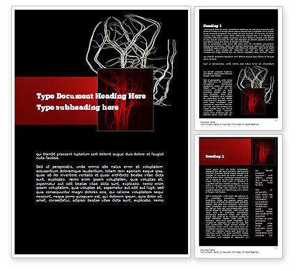 Temporomandibular Joint Word Template, 11070, Medical — PoweredTemplate.com