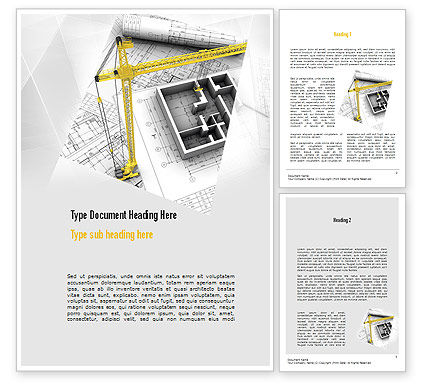 Construction: Constructing Word Template #11143