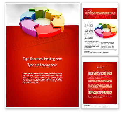 End to End Solution Word Template, 11174, Business Concepts — PoweredTemplate.com