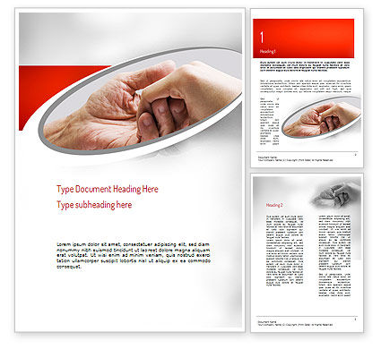 Religious/Spiritual: Elderly Care Word Template #11230