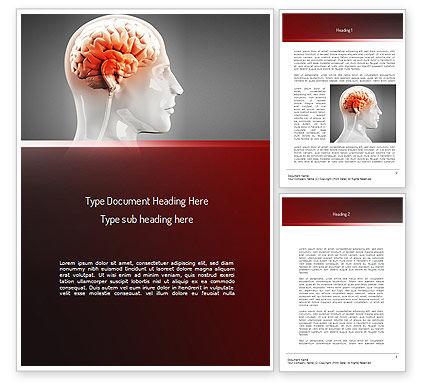 Thalamic Surface Word Template, 11260, Medical — PoweredTemplate.com