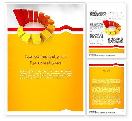 Steps to Success Word Template, 11261, Education & Training — PoweredTemplate.com