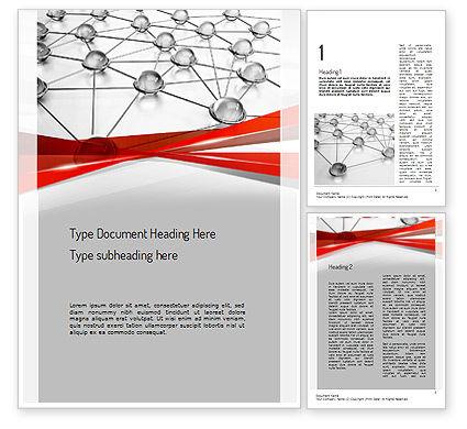 Technology, Science & Computers: Modello Word - Infrastruttura di rete #11273
