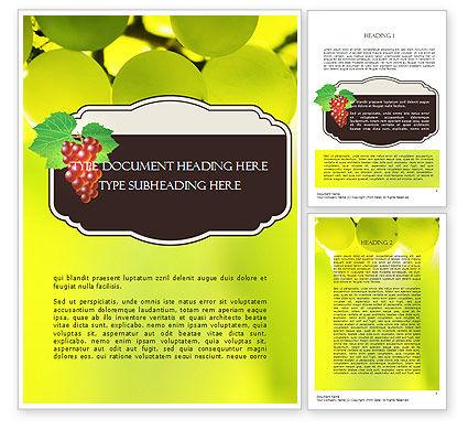 Food & Beverage: Wine Label Word Template #11316