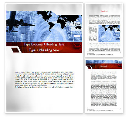 Logistics Services Word Template