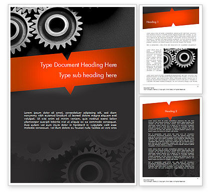 Construction: Working Wheels Word Template #11416