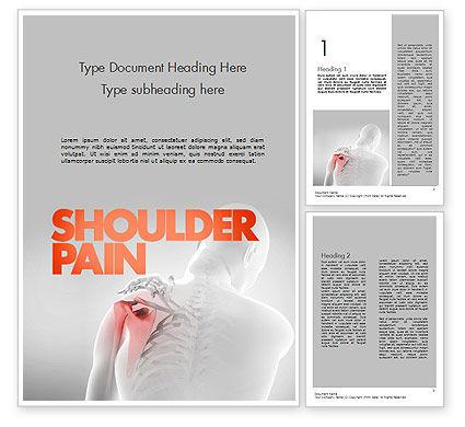 Shoulder Disorders Word Template, 11418, Medical — PoweredTemplate.com