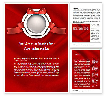 Celebratory Word Template, 11443, Holiday/Special Occasion — PoweredTemplate.com