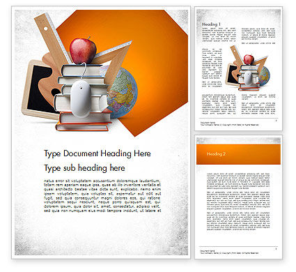 Education & Training: School Curriculum Word Template #11511