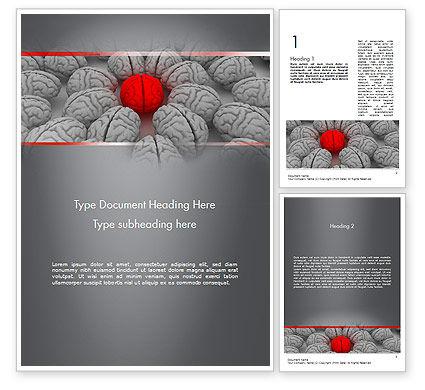 Charisma Word Template, 11626, Education & Training — PoweredTemplate.com