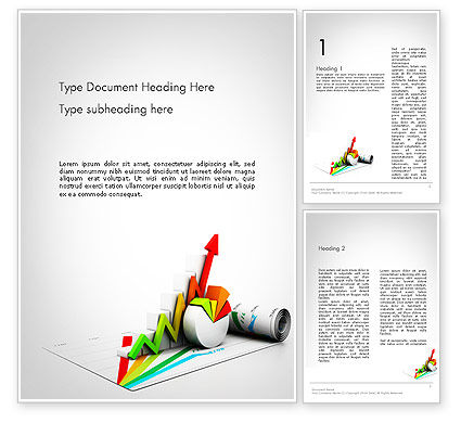 Business Concepts: Marketing Tools Word Template #11695