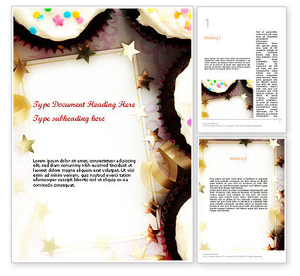 Birthday Invitation Word Template, 11709, Holiday/Special Occasion — PoweredTemplate.com