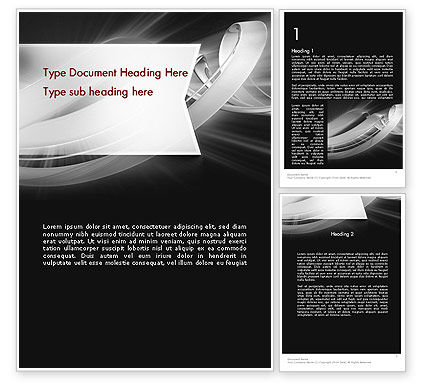 Abstract/Textures: Abstract Gray Banner Word Template #11734
