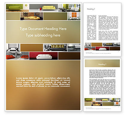 Interior Design Ideas Word Template