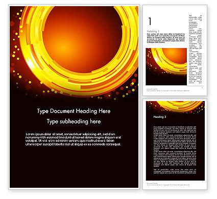 Abstract/Textures: Templat Word Lingkaran Dan Titik #11829