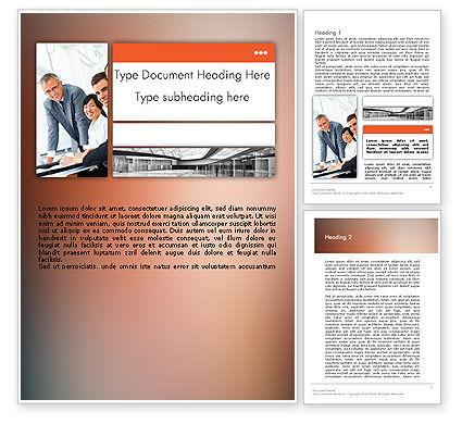 Business: Modèle Word de présentation de l'entreprise #11855