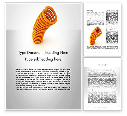 Business Concepts: Bouncing Back Word Template #12024