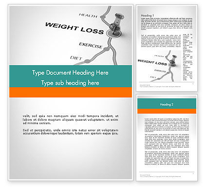 Medical: Modelo do Word - noções básicas de perda de peso #12087