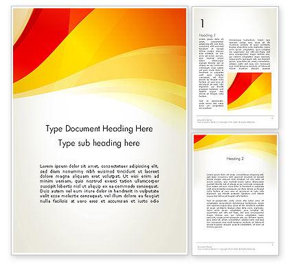 Abstract/Textures: Modèle Word de ondes d'orange #12322