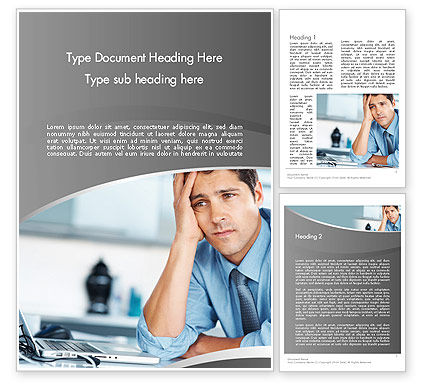 Feeling Pressure Word Template, 12333, Careers/Industry — PoweredTemplate.com