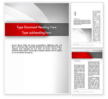 Abstract/Textures: Abstract Gray Arcs Word Template #12487