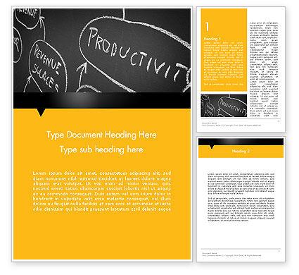 Organization Performance Word Teemplate, 12517, Consulting — PoweredTemplate.com