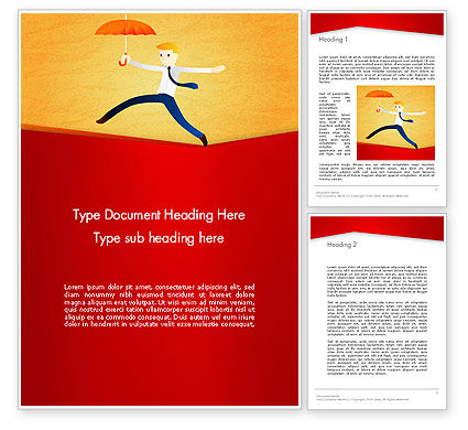 Balancing on the Rope Word Template, 12544, Business Concepts — PoweredTemplate.com