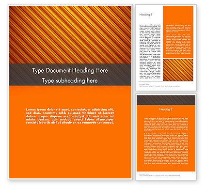 Abstract/Textures: Diagonal Orange Stripes Word Template #12554