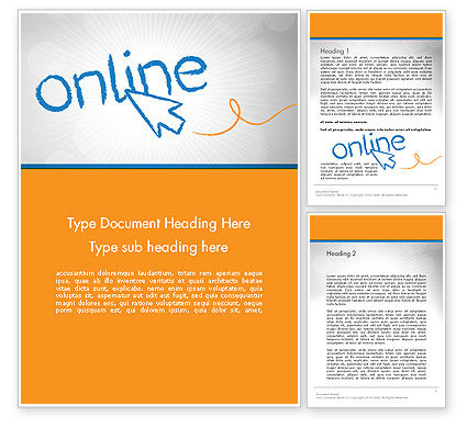 Online Word Template