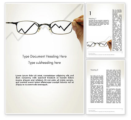 Business Insight Word Template, 12664, Consulting — PoweredTemplate.com