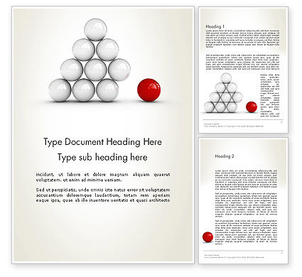 Business Concepts: Enhancing Concept Word Template #12701