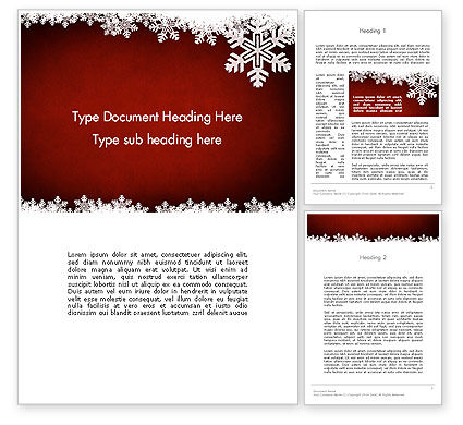 Holiday/Special Occasion: Expressive New Year Theme Word Template #12710