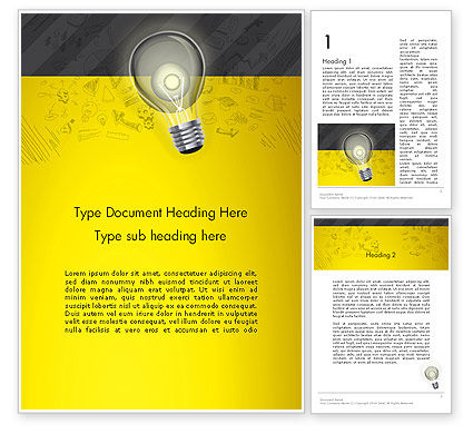 Developing Business Idea Word Template