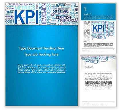 KPI Word Cloud Word Template