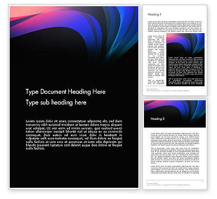Abstract/Textures: Modelo do Word - abstratos norte luzes #12960