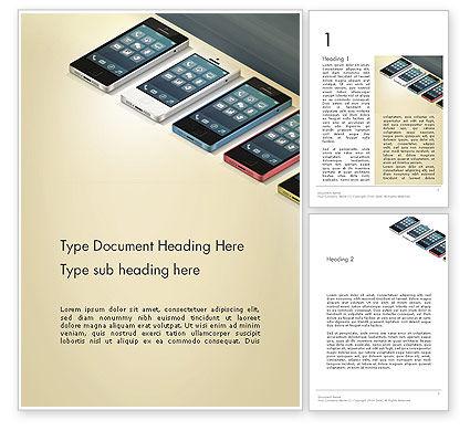 Careers/Industry: Templat Word Seri Smartphone #12965