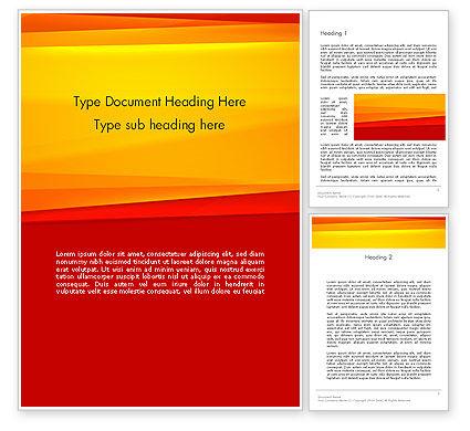 Abstract/Textures: Modèle Word de fond orange animé #12995