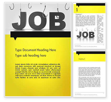 Vacancy Word Template
