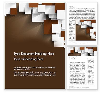 Abstract/Textures: 重叠方块概念Word模板 #13140
