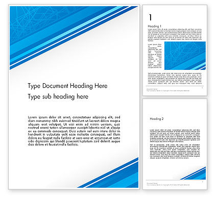 Abstract/Textures: Strict Corporate Tilted Background Word Template #13192