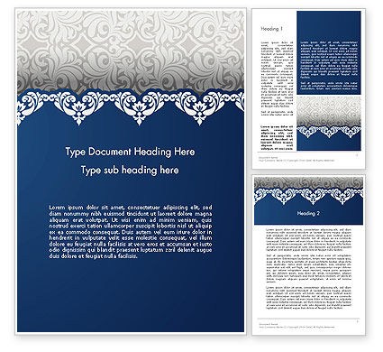 Ornate Word Template