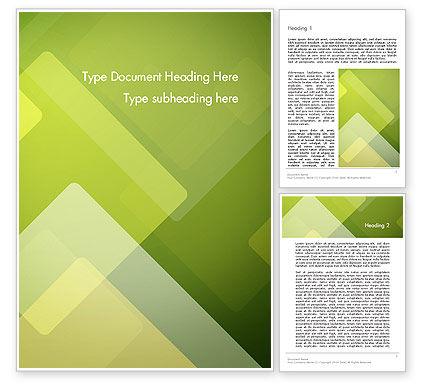 Abstract/Textures: 워드 템플릿 - 녹색 겹치는 레이어 #13305