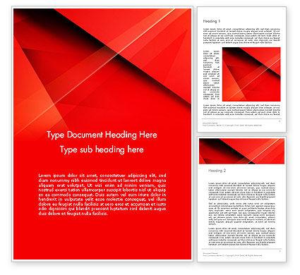 Abstract/Textures: 워드 템플릿 - 겹치는 빨간색 레이어 #13339