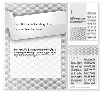 Abstract/Textures: White Gewatteerde Word Template #13352