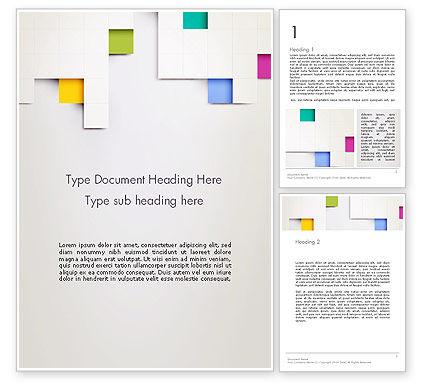 Abstract/Textures: 抽象文件夹Word模板 #13373