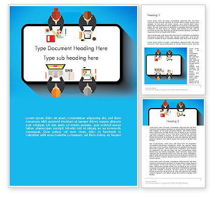 Business Concepts: Communication for Successful Project Word Template #13383