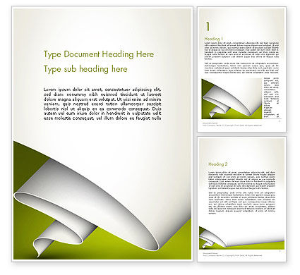 Abstract/Textures: Fluttering Banner Abstract Word Template #13395