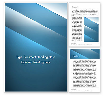 Abstract/Textures: Abstract Background with Blue Layers Word Template #13422