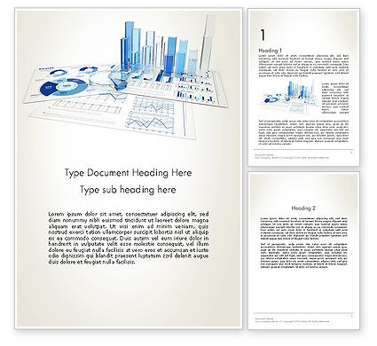 Consulting: Analyze Market Report Word Template #13493