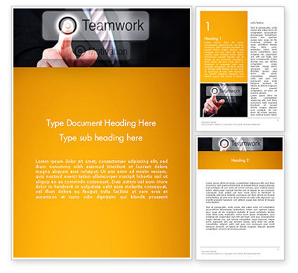 Executive Coaching Word Template, 13529, Education & Training — PoweredTemplate.com